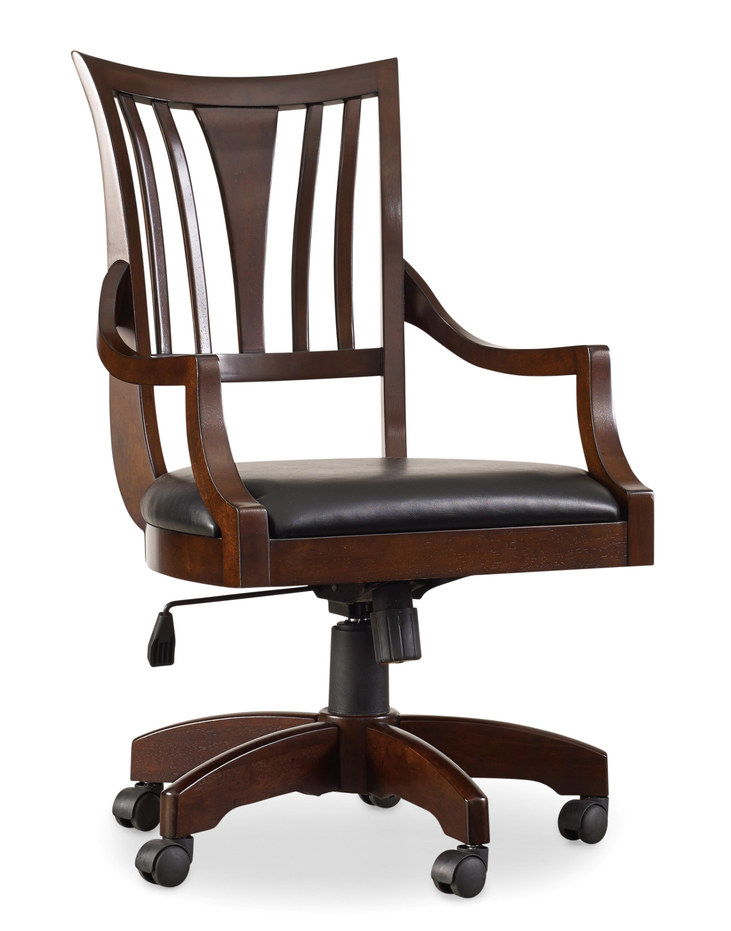 Hooker Furniture Latitude Tilt Swivel Desk Chair - Item Number: 30220