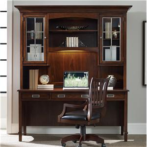 Hooker Furniture Latitude Desk and Hutch Set