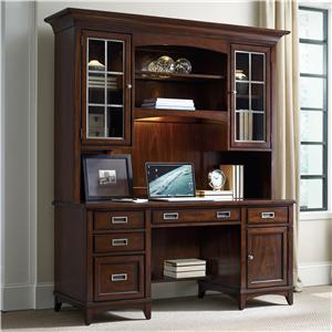 Hooker Furniture Latitude Credenza and Hutch Set