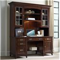 Hooker Furniture Latitude Credenza and Hutch Set - Item Number: 5167-10479+10467