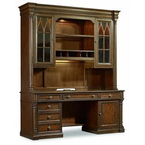 Hooker Furniture Leesburg Computer Credenza Hutch