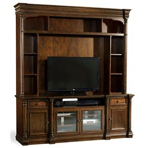 Hooker Furniture Leesburg Two Piece Entertainment Group