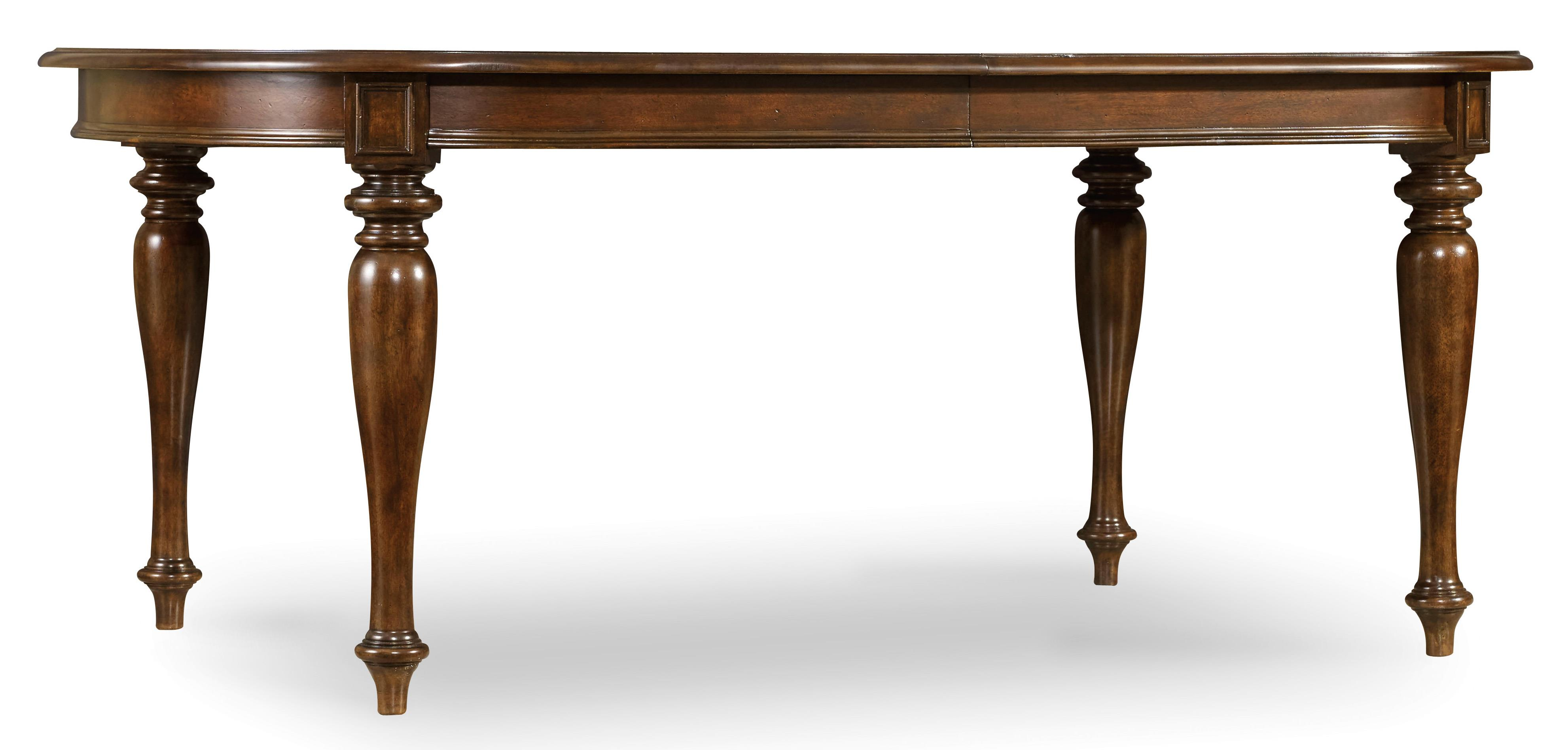 Hooker Furniture Leesburg Leg Table with One 18'' Leaf - Item Number: 5381-75200