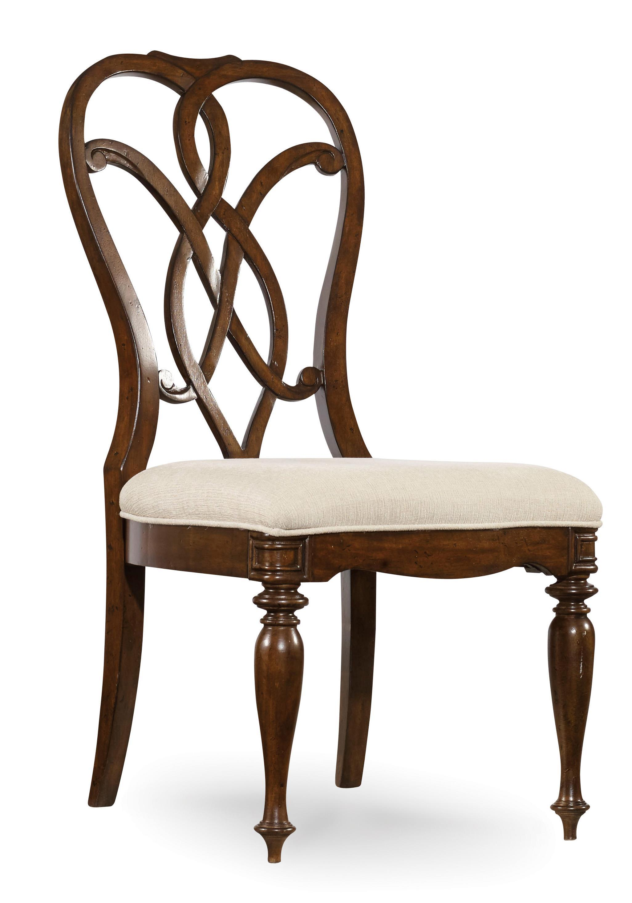 Hooker Furniture Leesburg Splatback Side Chair - Item Number: 5381-75310