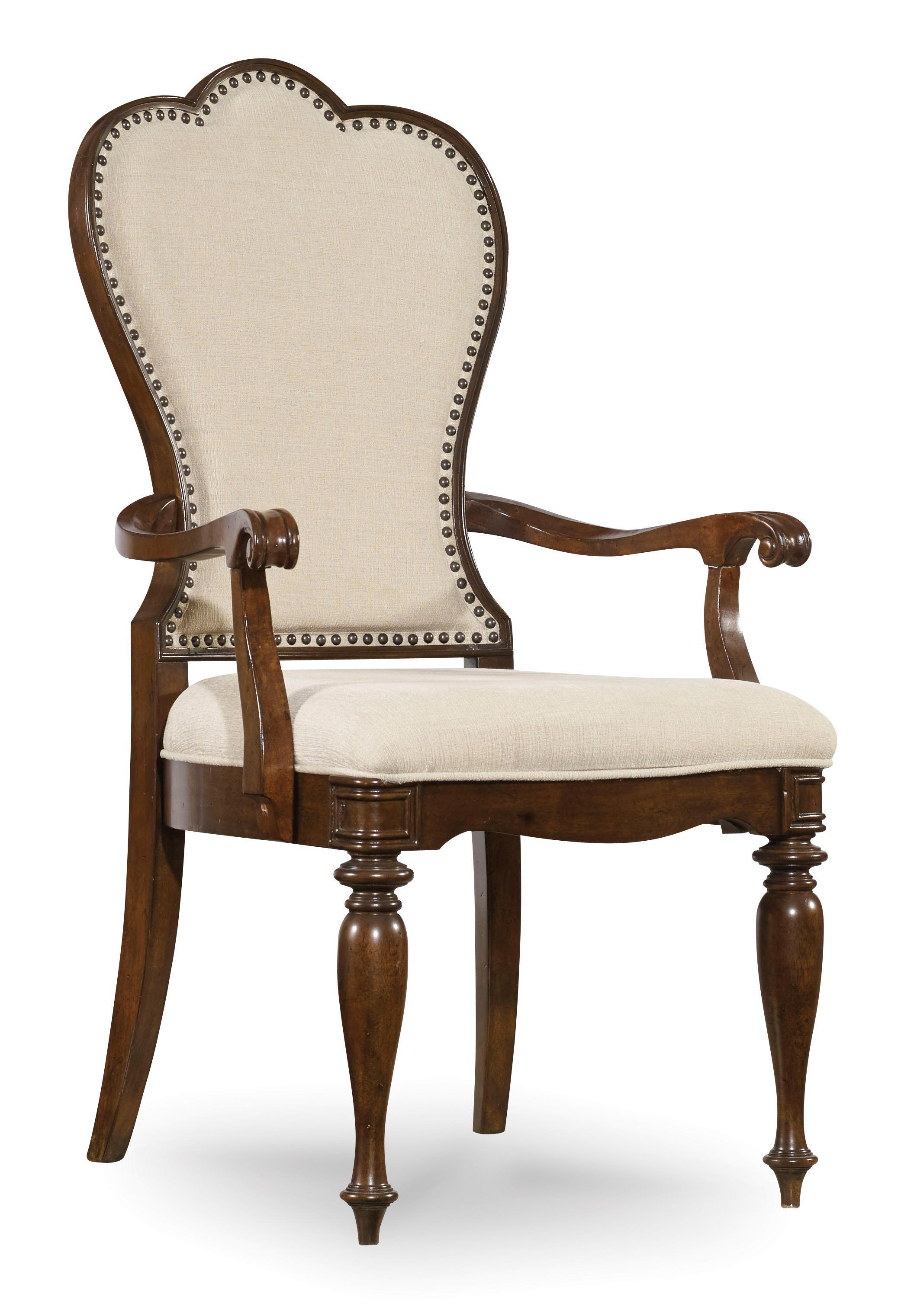 Hooker Furniture Leesburg Upholstered Arm Chair - Item Number: 5381-75400
