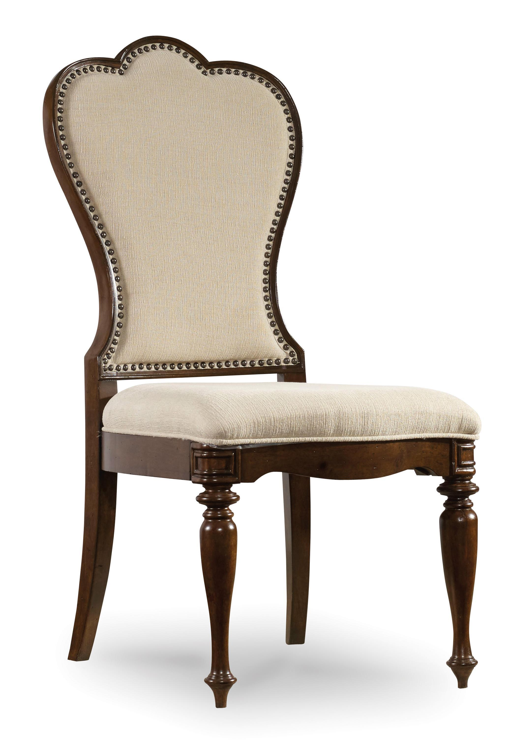 Hooker Furniture Leesburg Upholstered Side Chair - Item Number: 5381-75410