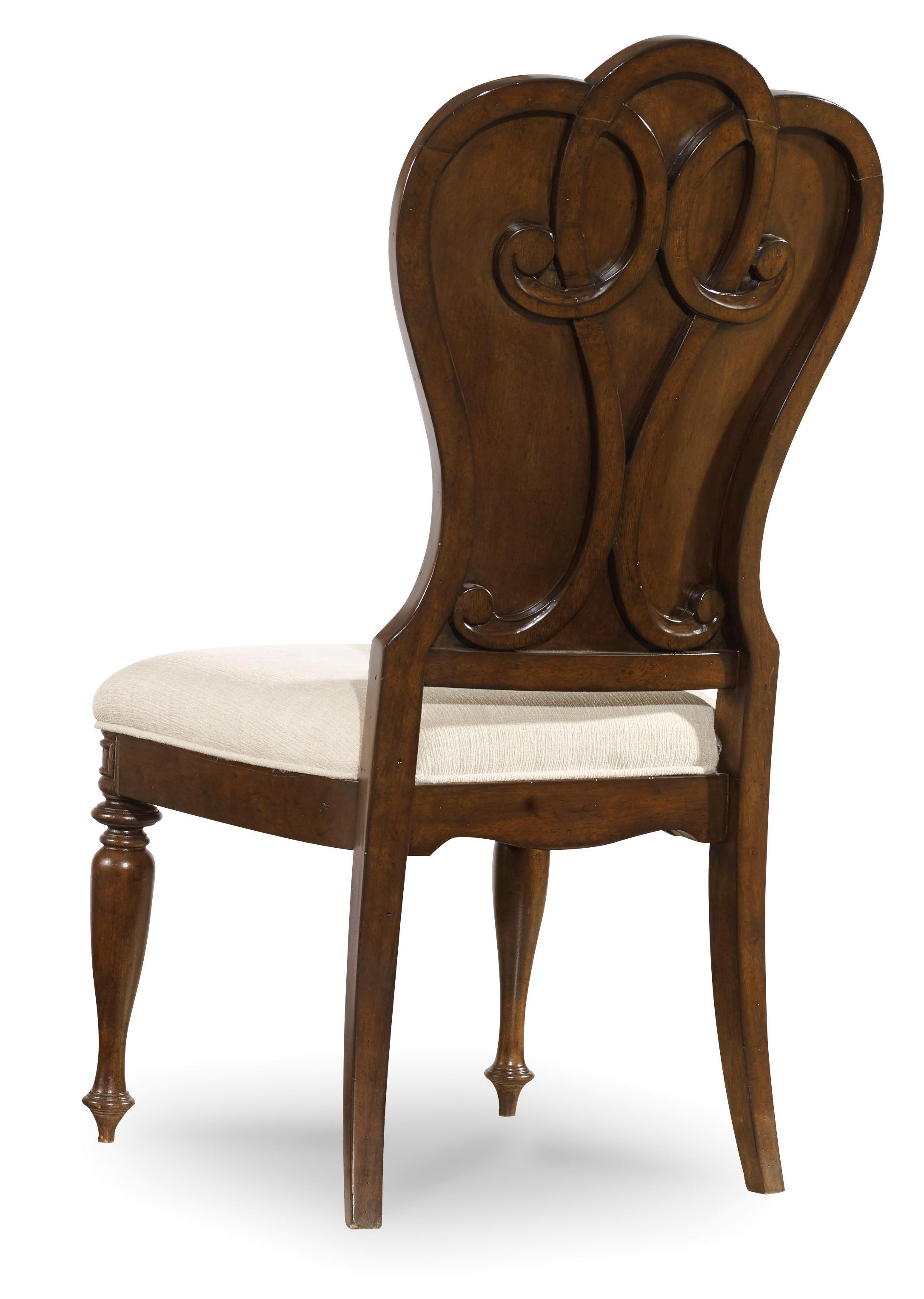 Hooker Furniture Leesburg Upholstered Side Chair With Nail Head Trim Olinde 39 S Furniture
