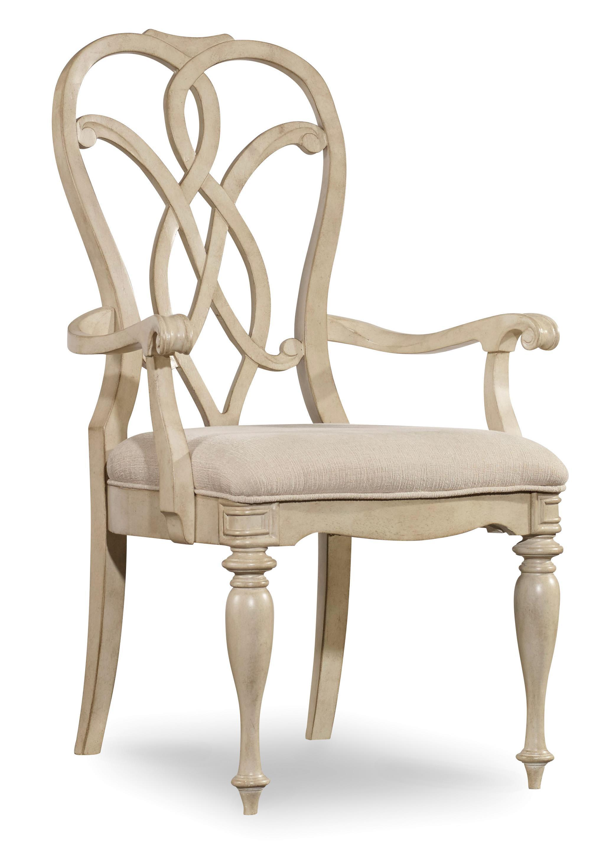 Hooker Furniture Leesburg Splatback Arm Chair - Item Number: 5481-75300