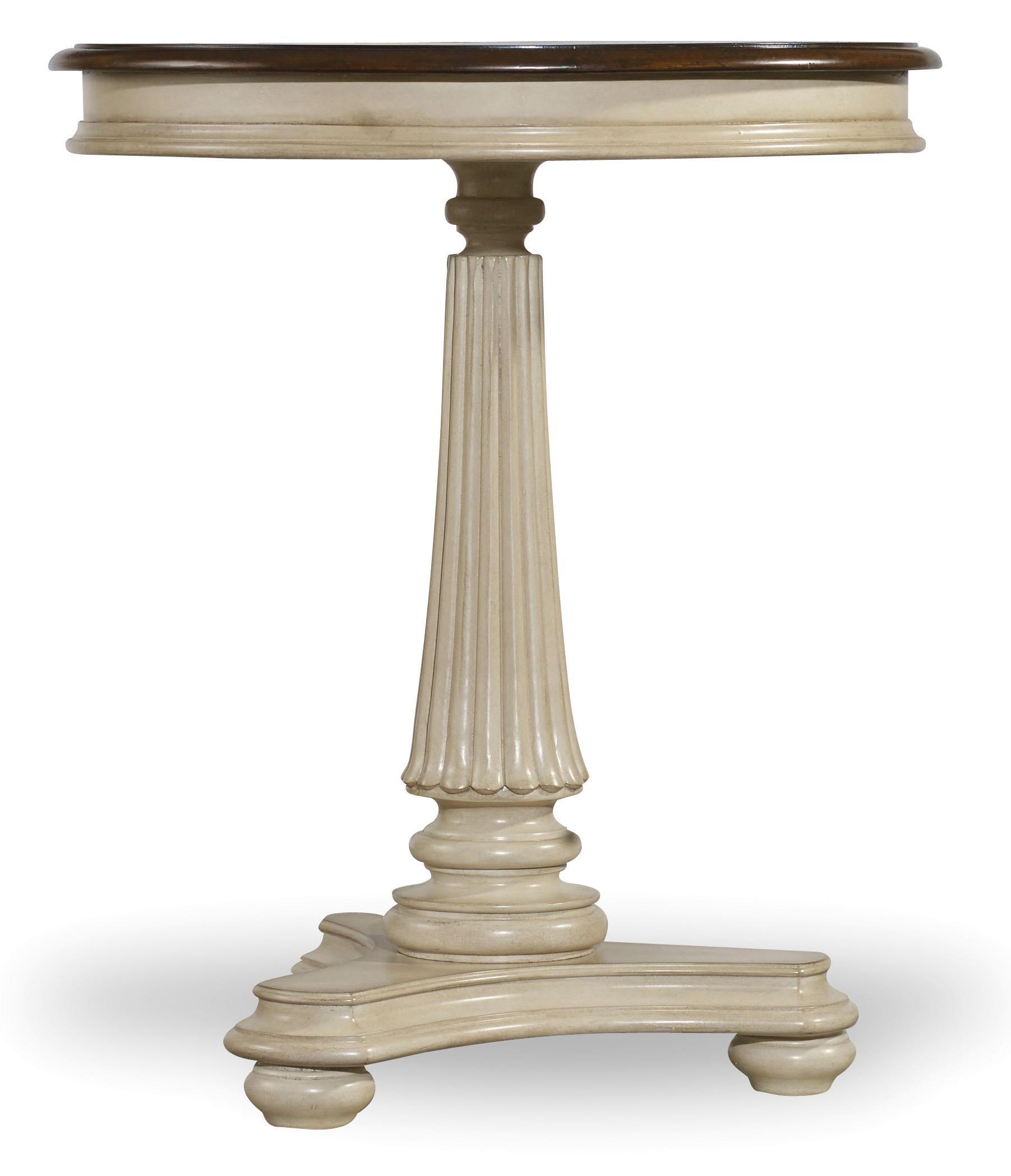 Hooker Furniture Leesburg Round Bedside Table - Item Number: 5481-90015
