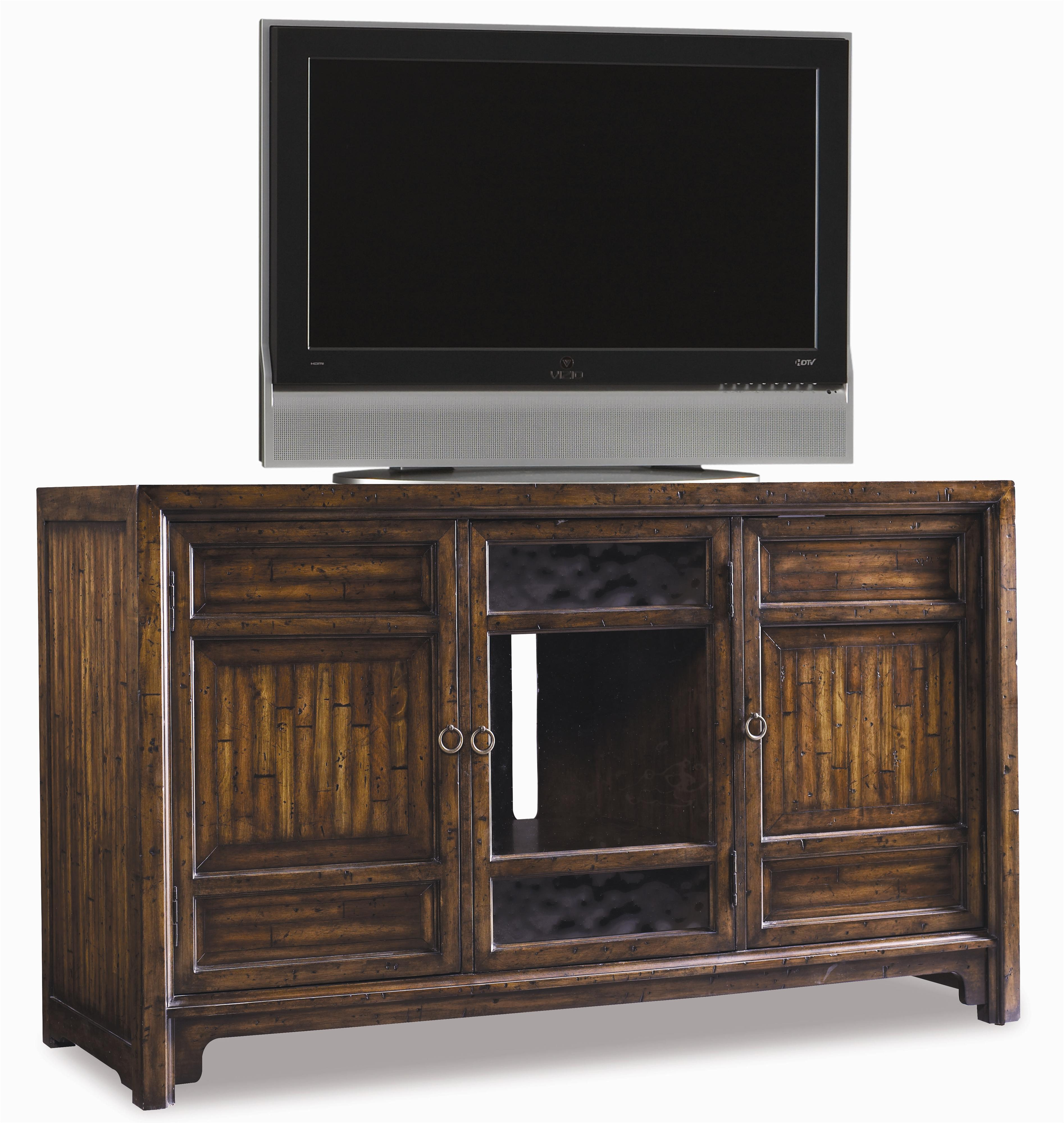 Hooker Furniture Legends Entertainment Console - Item Number: 643-55-455