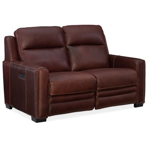 Pwr Motion Loveseat with Pwr Head & Lumbar