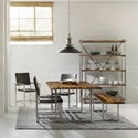 Hooker Furniture Live Edge Contemporary Dining Room Group - Item Number: 5490 Dining Room Group 1