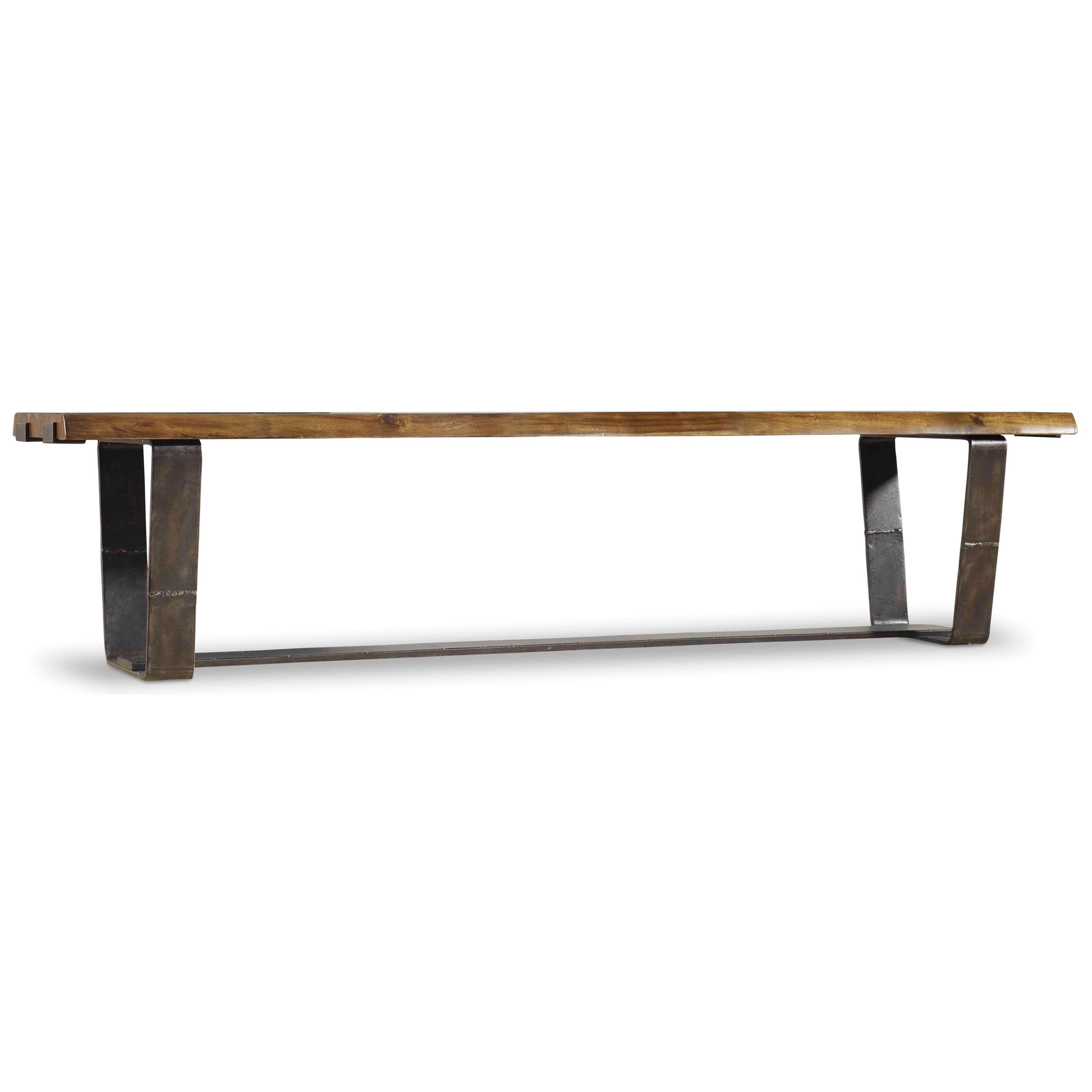 Hooker Furniture Live Edge Bench - Item Number: 5590-75315-DKW