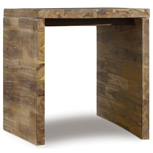Hooker Furniture Live Edge Rectangle End Table