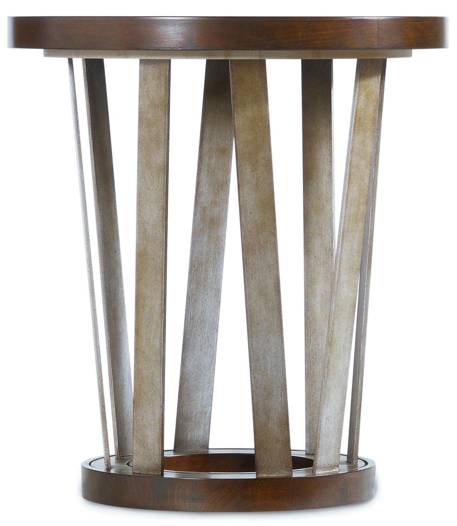 Hooker Furniture Lorimer Round End Table   Item Number: 5065 80116