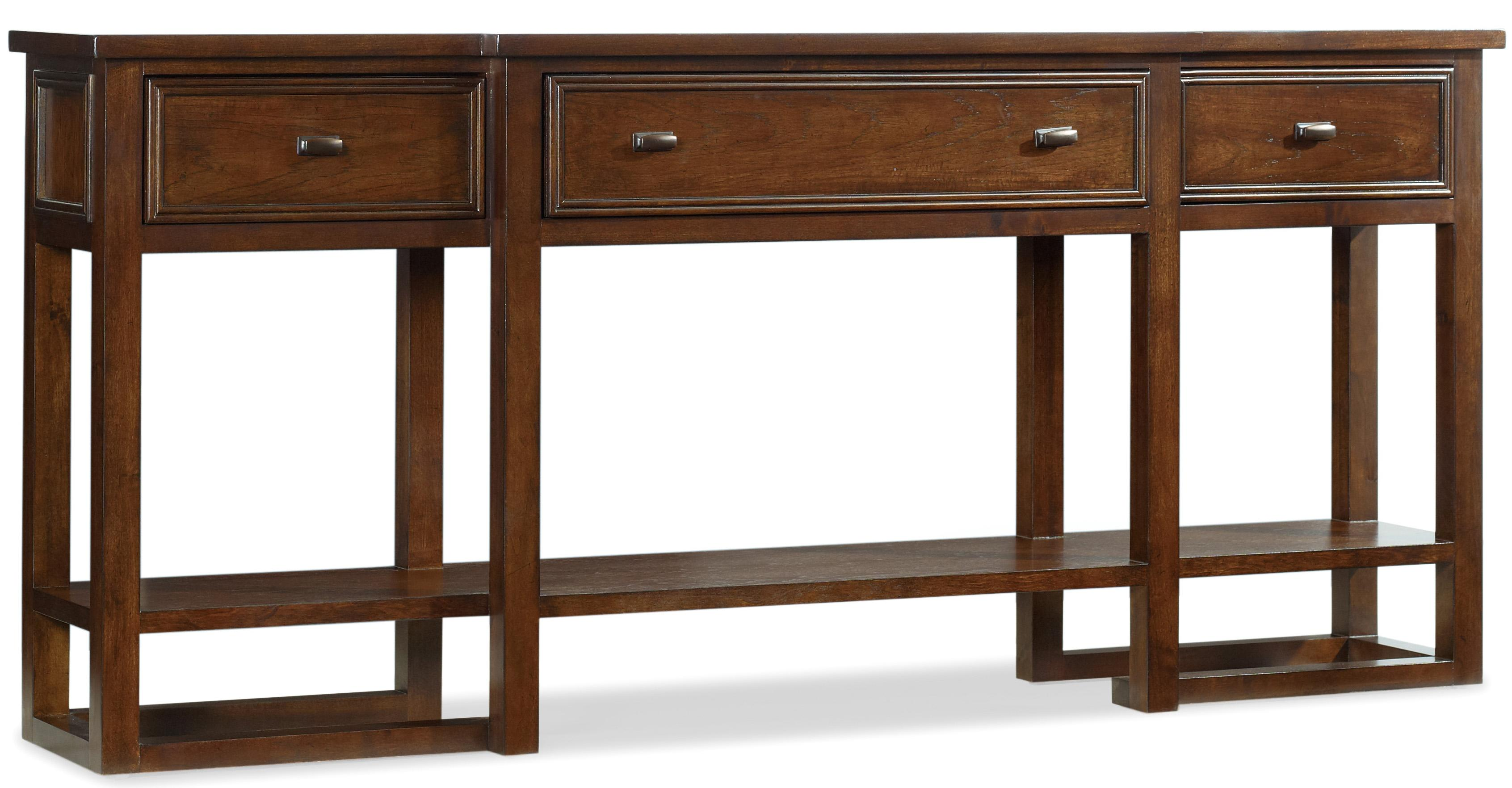 Hamilton Home Lorimer 72-Inch Sofa Table with Breakfront, 3 Drawers ...