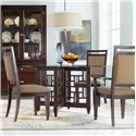 Hooker Furniture Ludlow 5 Piece Set - Item Number: 1030-76001+000-75-500+2x76500+2x10