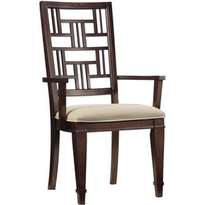 Hooker Furniture Ludlow Fretback Arm Chair
