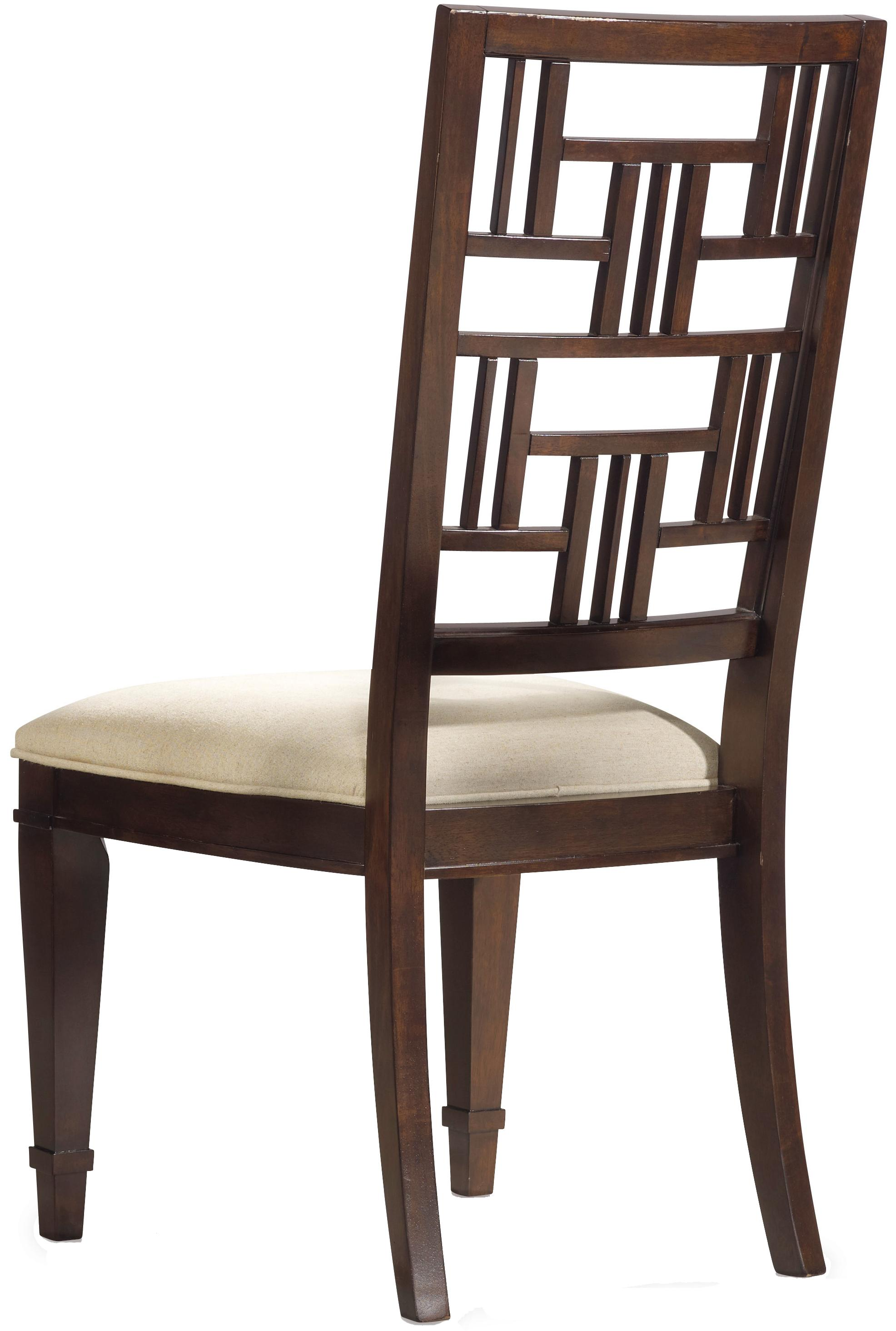 Hooker Furniture Ludlow Fretback Side Chair - Item Number: 1030-76410