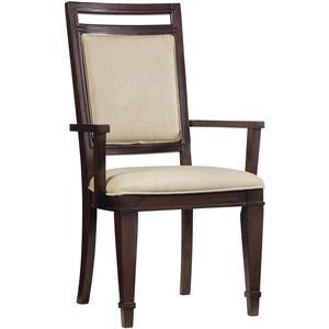 Hooker Furniture Ludlow Upholstered Back Arm Chair