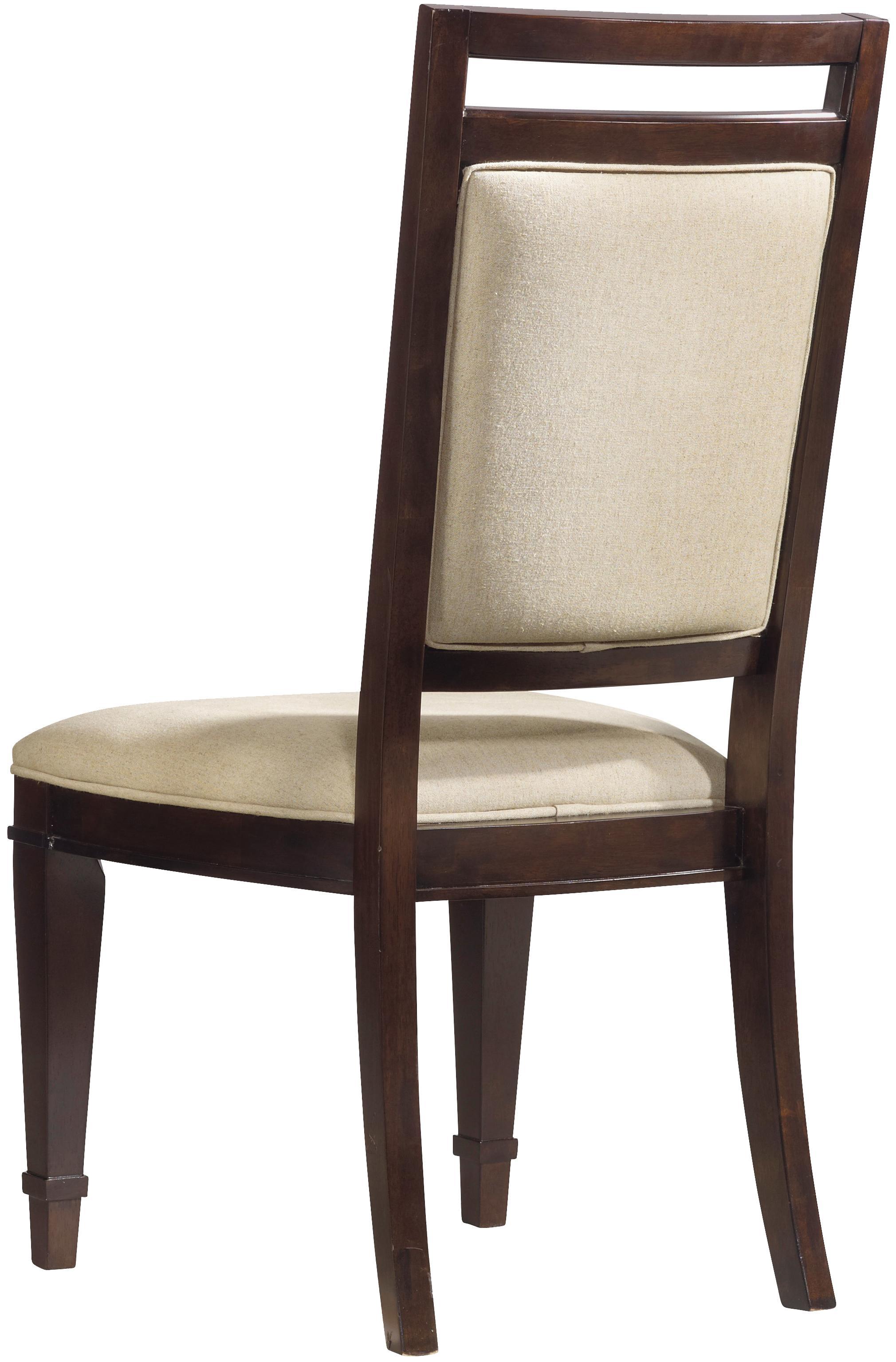Hooker Furniture Ludlow Upholstered Back Side Chair - Item Number: 1030-76510