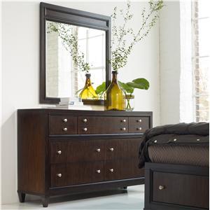 Hooker Furniture Ludlow Dresser & Mirror