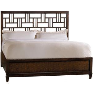 Hooker Furniture Ludlow Queen Fretwork Bed