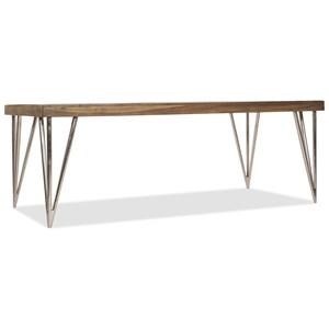 """Hooker Furniture L'Usine 84"""" Dining Table"""