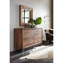 Hooker Furniture L'Usine Reclaimed Wood Dresser with Six Drawers