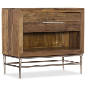 Hooker Furniture L'Usine Leg Nightstand