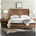 Hooker Furniture L'Usine King Panel Bed - Item Number: 5950-90266-MWD