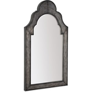 Floor Mirror w/ Jewelry Storage