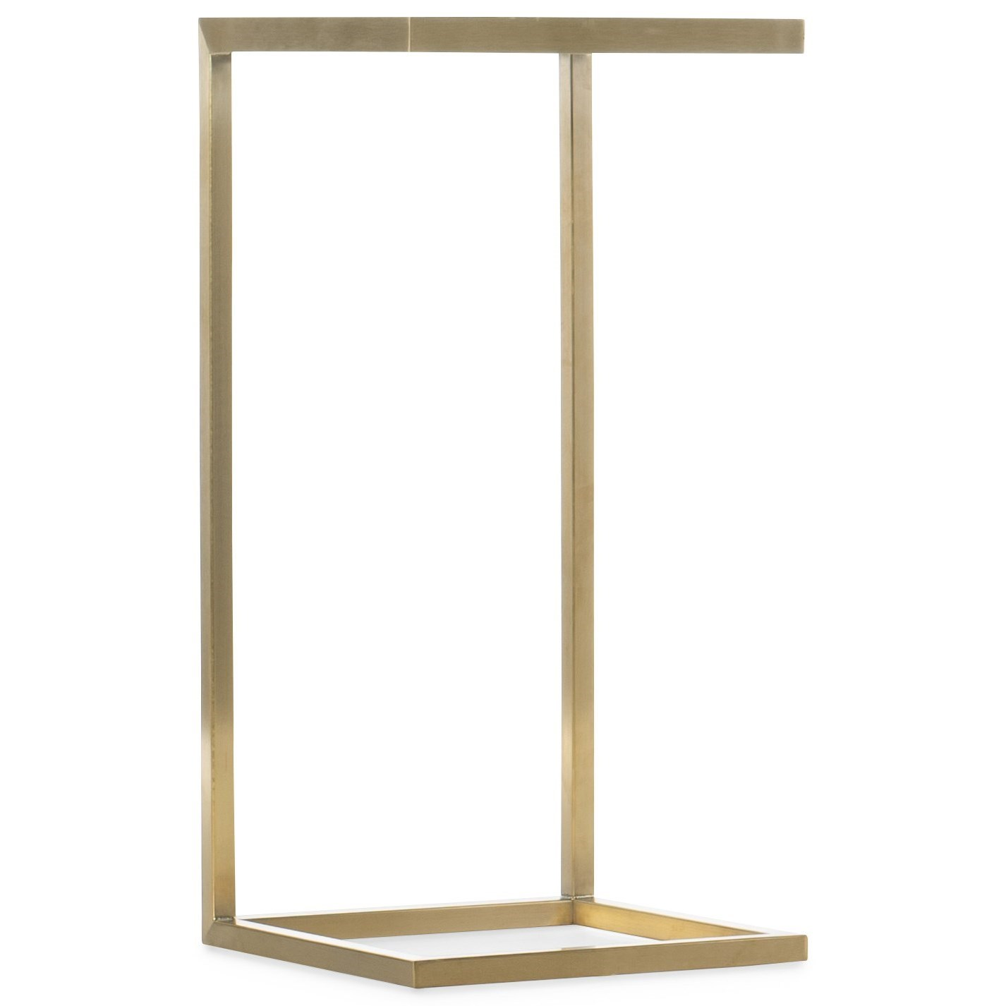 Holmes C-Shaped Accent Table