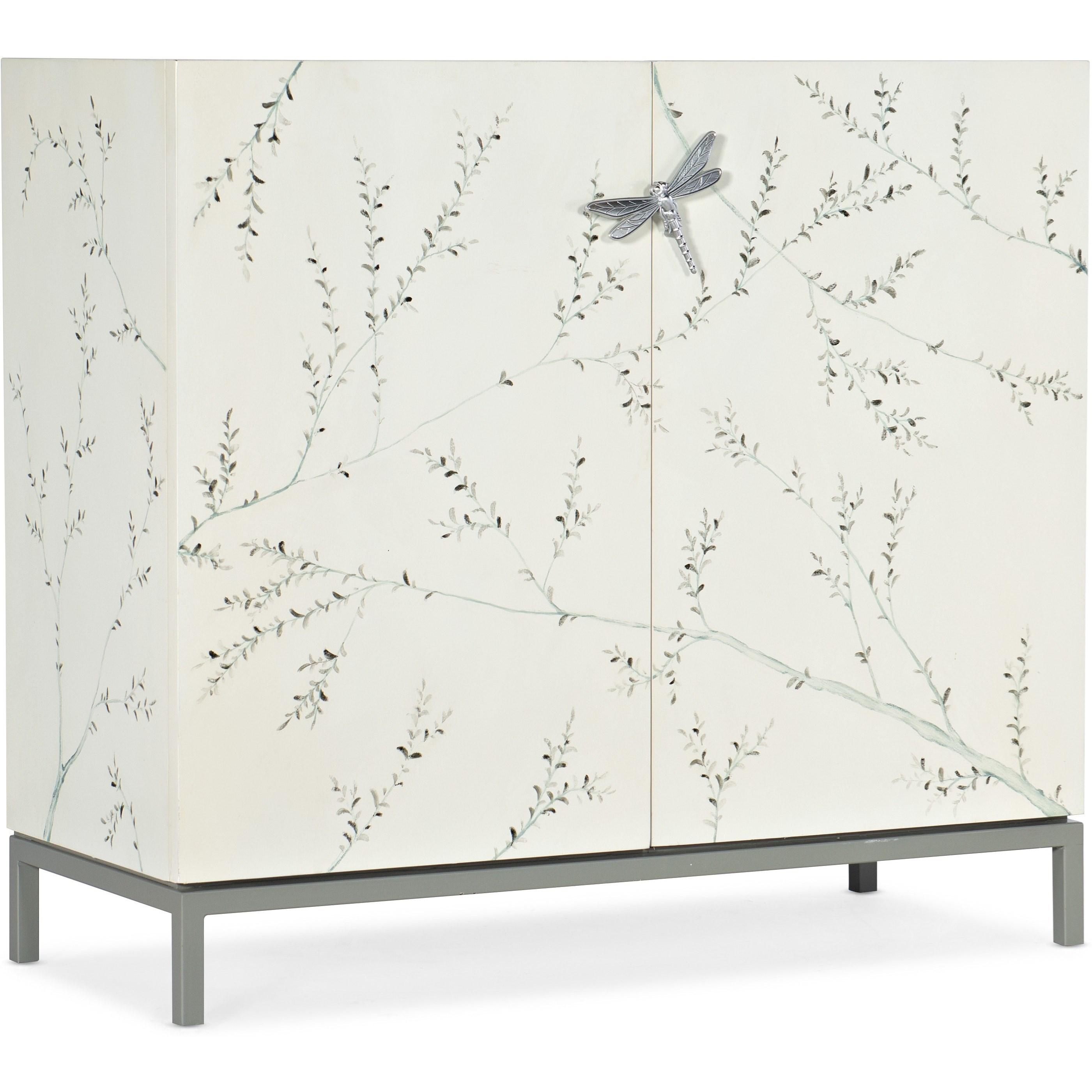 Melange Bale Bar Cabinet by Hooker Furniture at Baer's Furniture