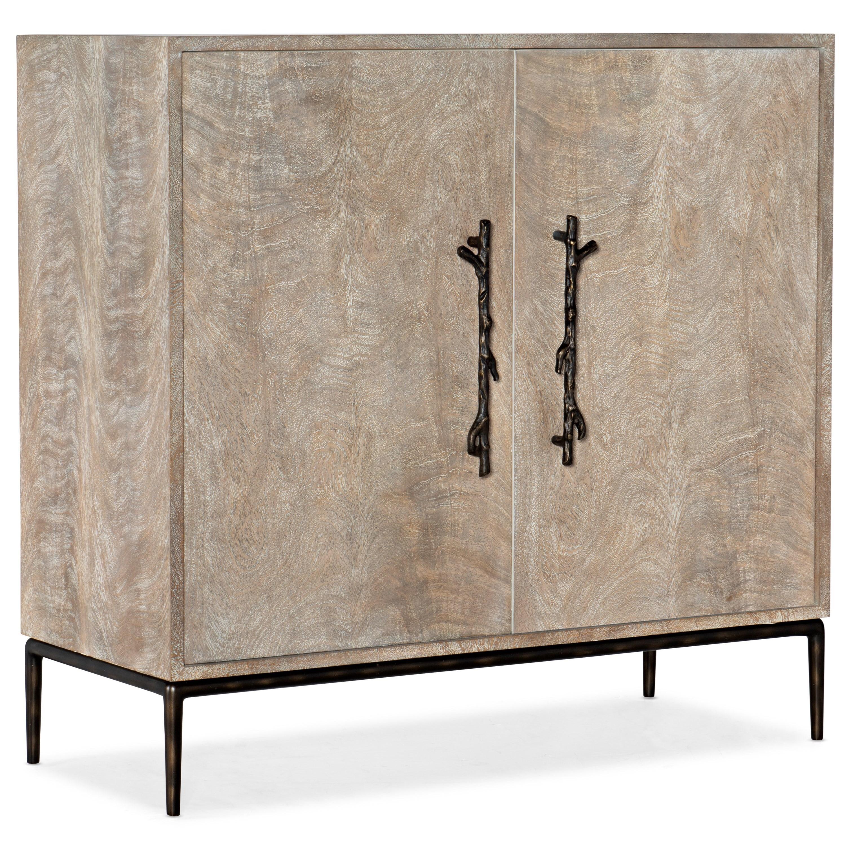 Melange Claret Two-Door Chest by Hooker Furniture at Stoney Creek Furniture