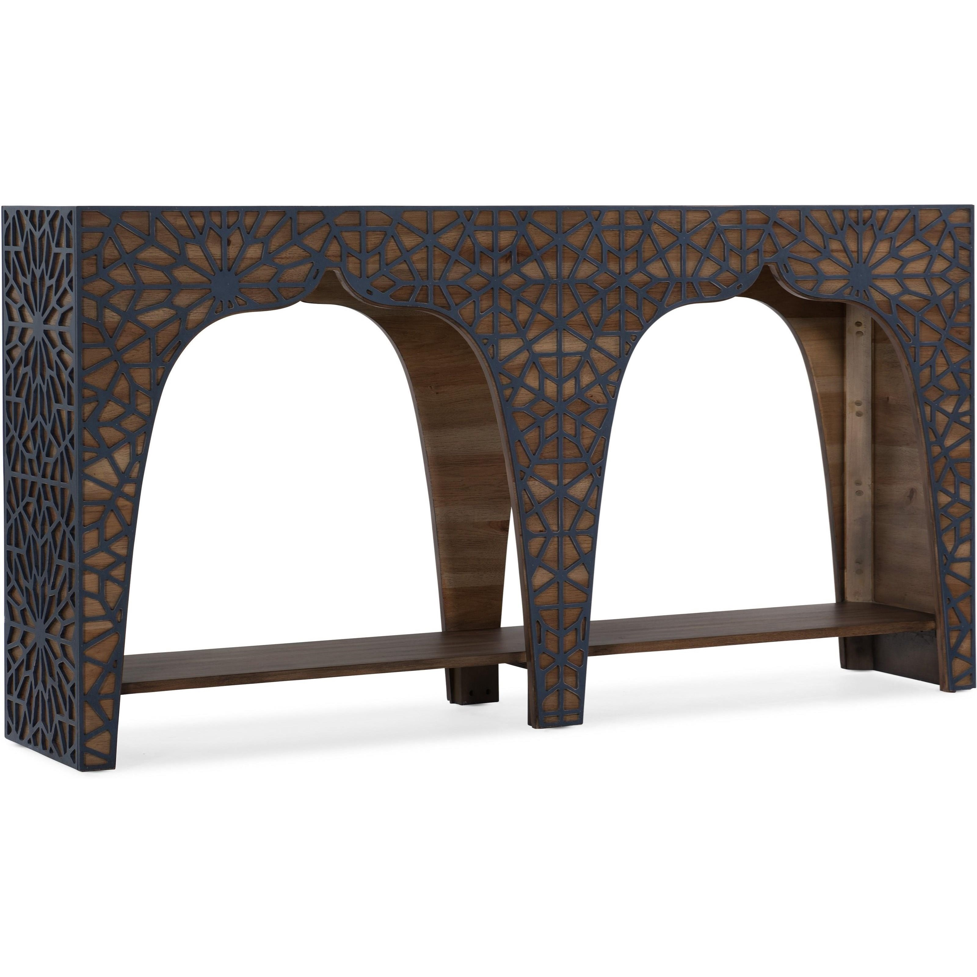Melange Hall Console Table by Hooker Furniture at Stoney Creek Furniture