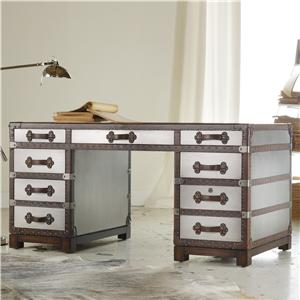 "Hooker Furniture Mélange 60"" Bondurant Desk"