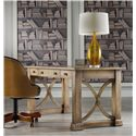 Hooker Furniture Mélange Architectural Writing Desk with 3 Drawers