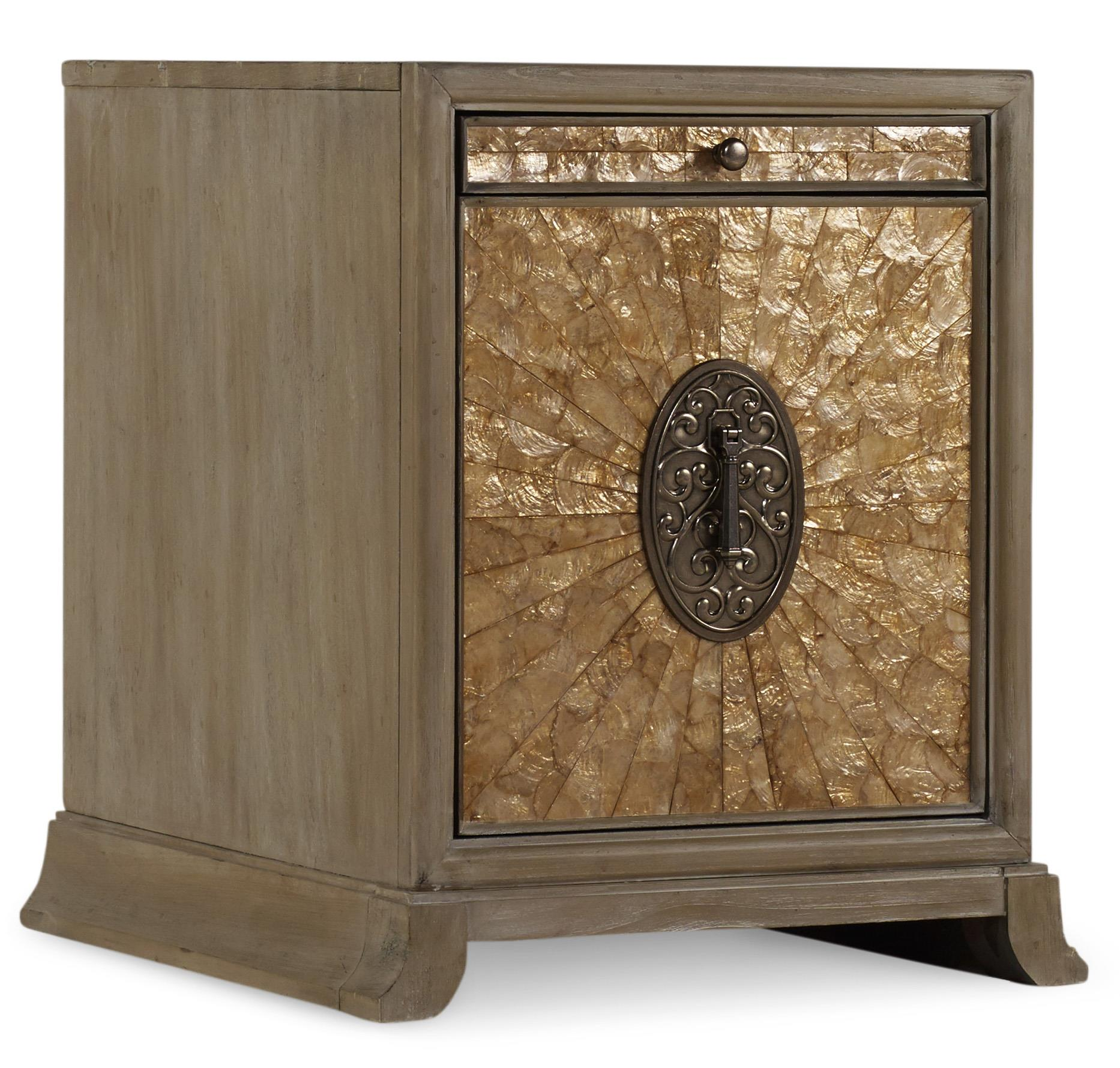 Hooker Furniture Mélange Ari Accent File Chest - Item Number: 638-10010