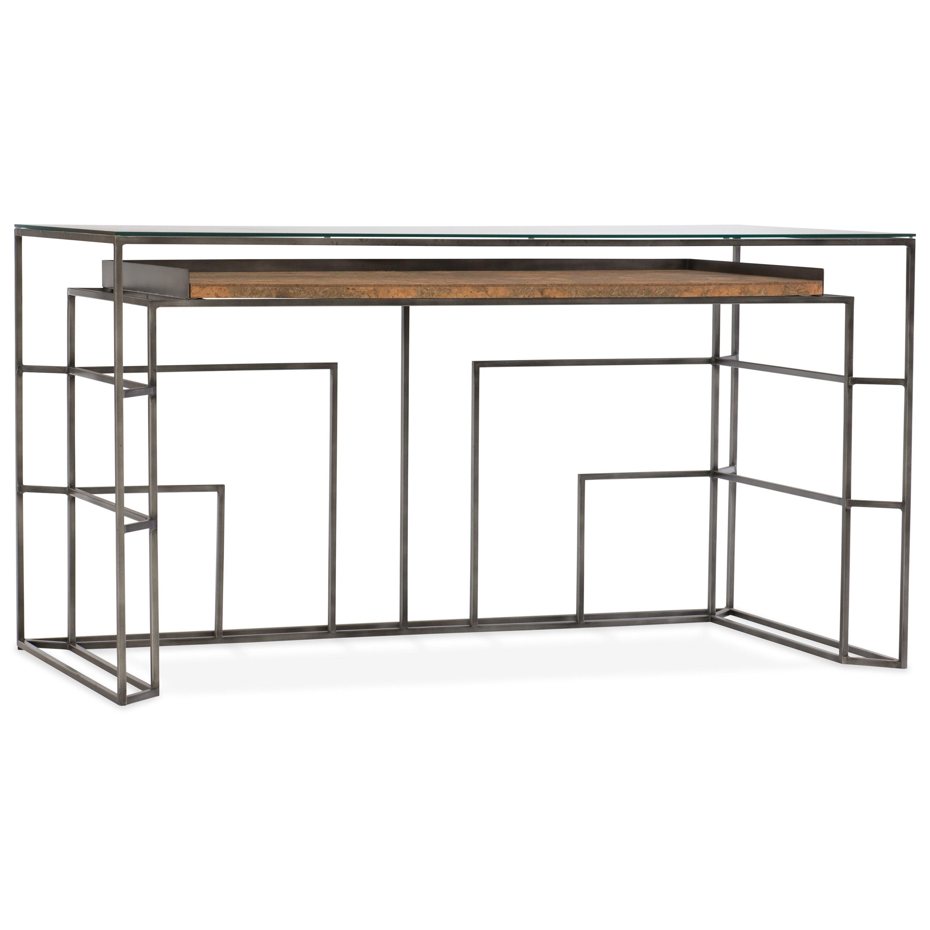 Hooker Furniture Mélange Gavin Writing Desk - Item Number: 638-10015-LTBR
