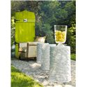 Hooker Furniture Mélange Flowered Ivory Drum Table - Table Is Not Intended For Outdoor Use