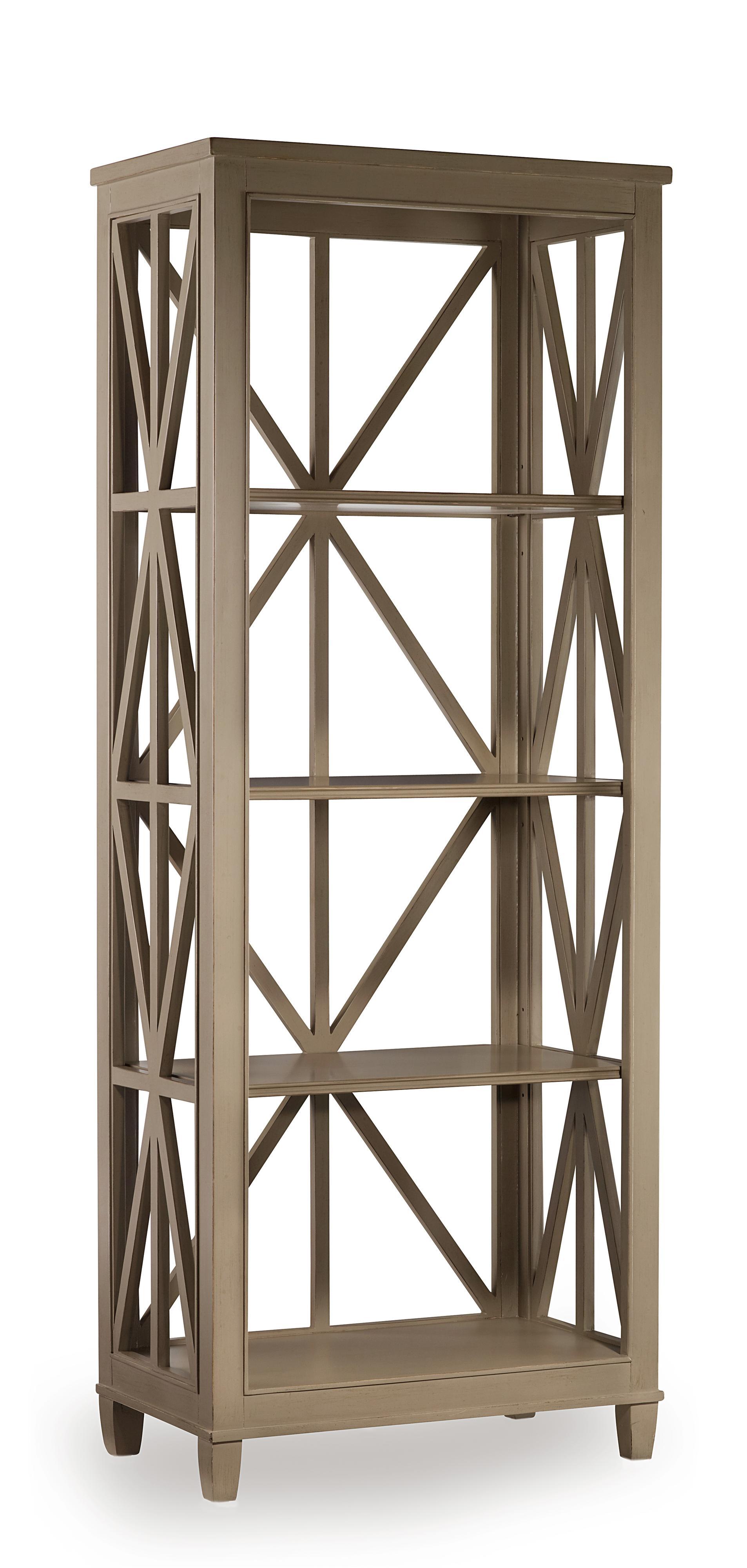 Hooker Furniture Mélange Holden Etagére Bookcase - Item Number: 638-50020