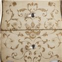 Hooker Furniture Mélange Ariana Handpainted Chest - Hand-Painted Design Detail
