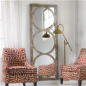 Encircled Floor Mirror
