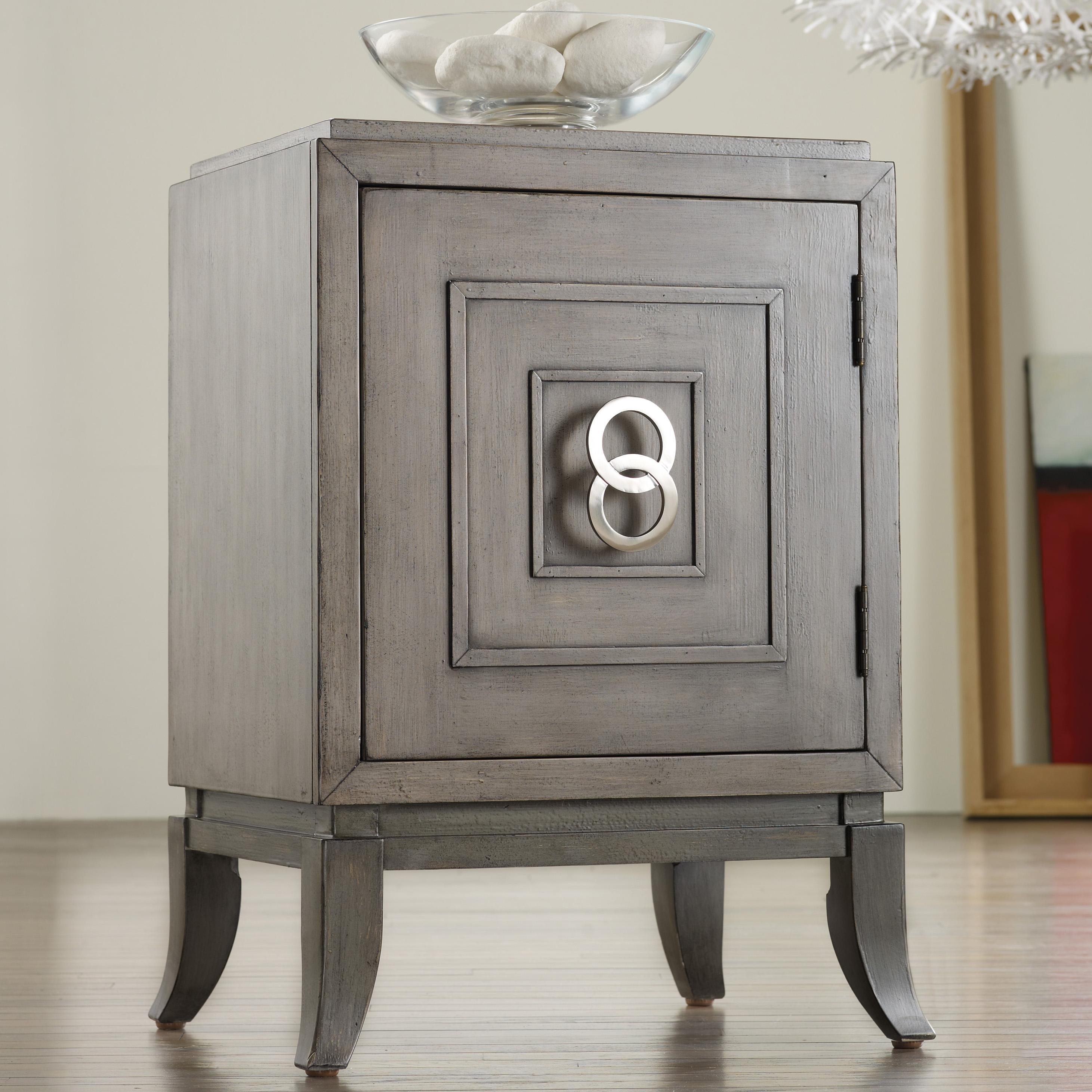 Hooker Furniture Mélange Easton Chairside Chest - Item Number: 638-50063