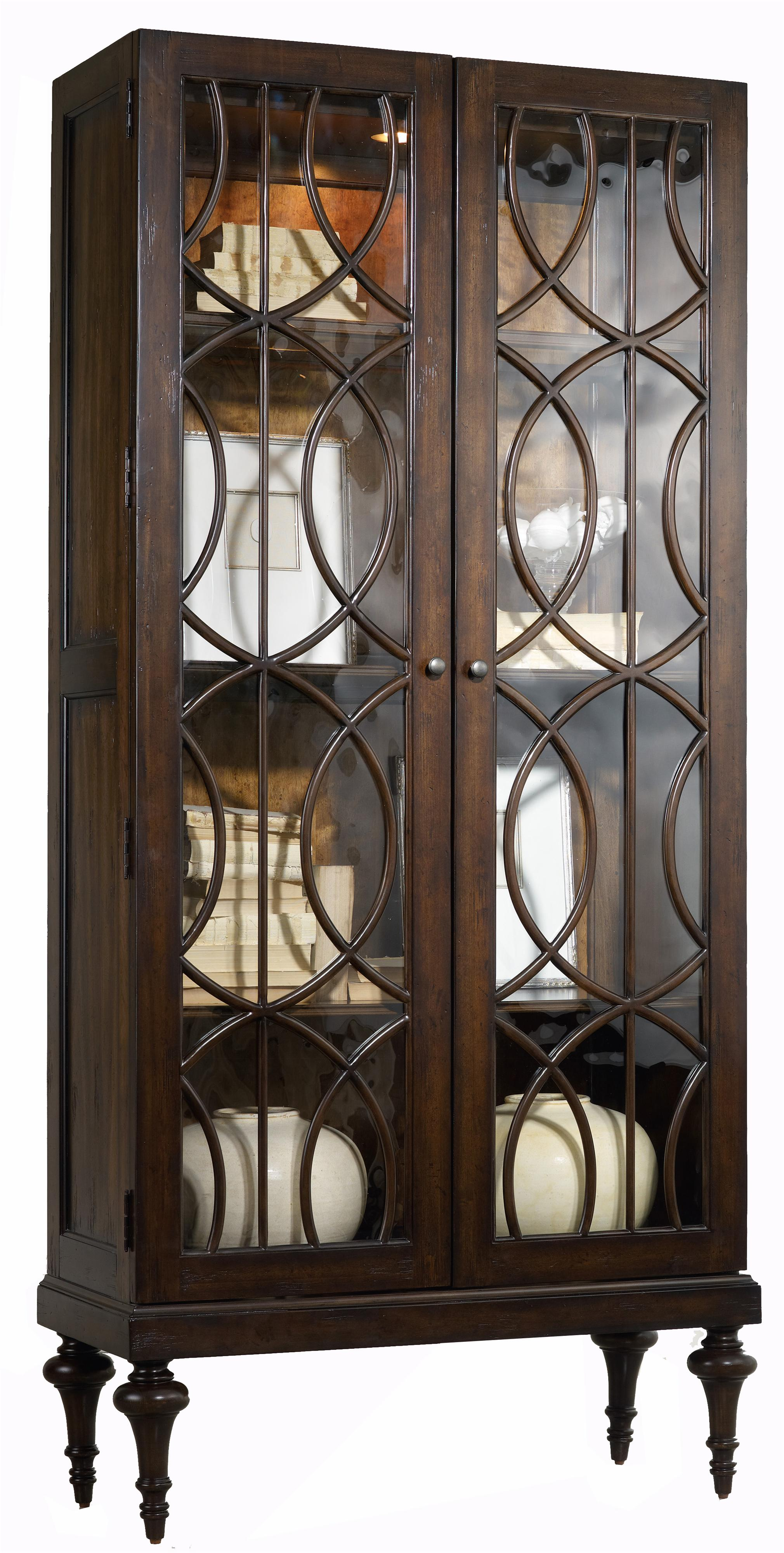 Hooker Furniture Mélange Adaira Display Cabinet  - Item Number: 638-50083