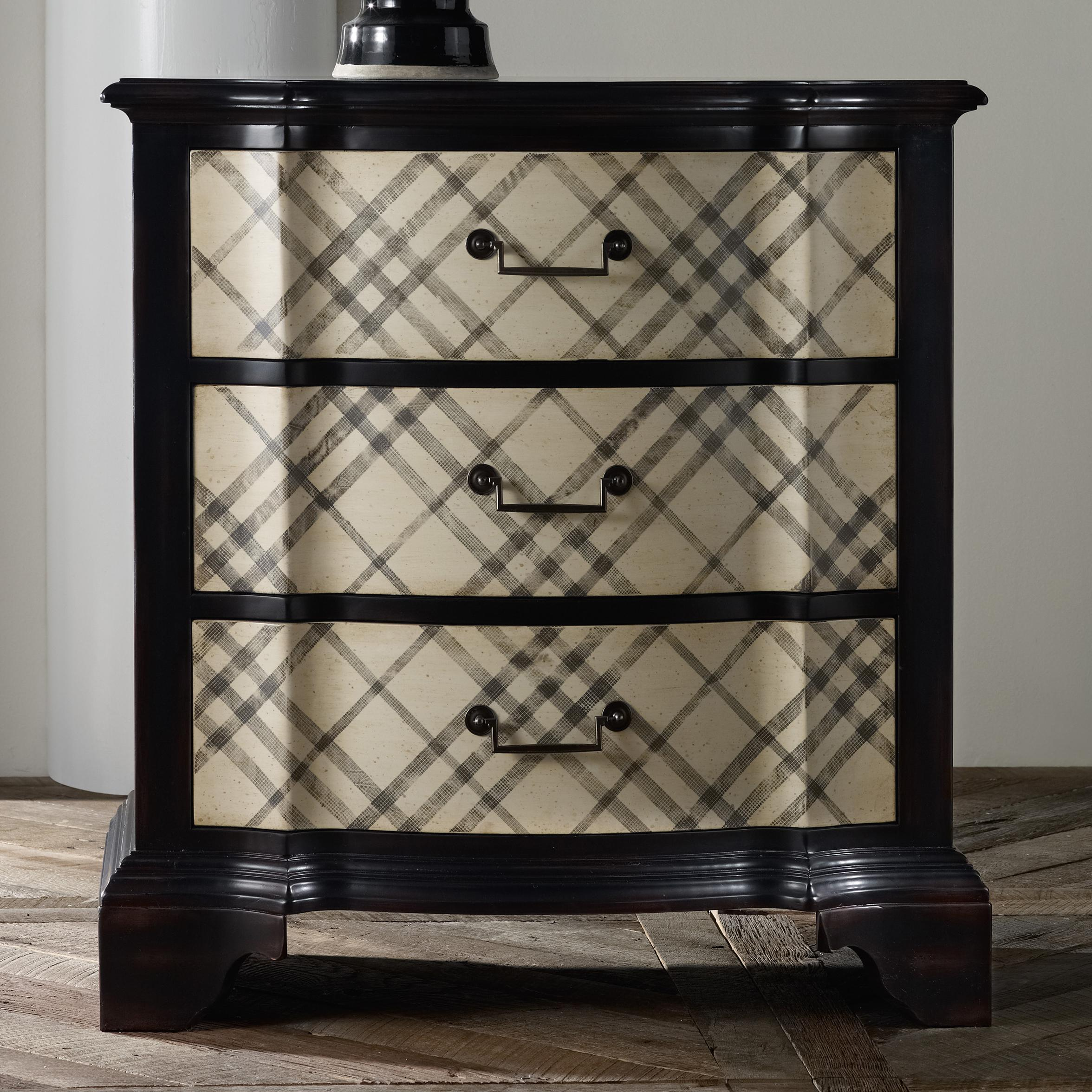 Mélange Plaid Chest by Hooker Furniture at Stoney Creek Furniture