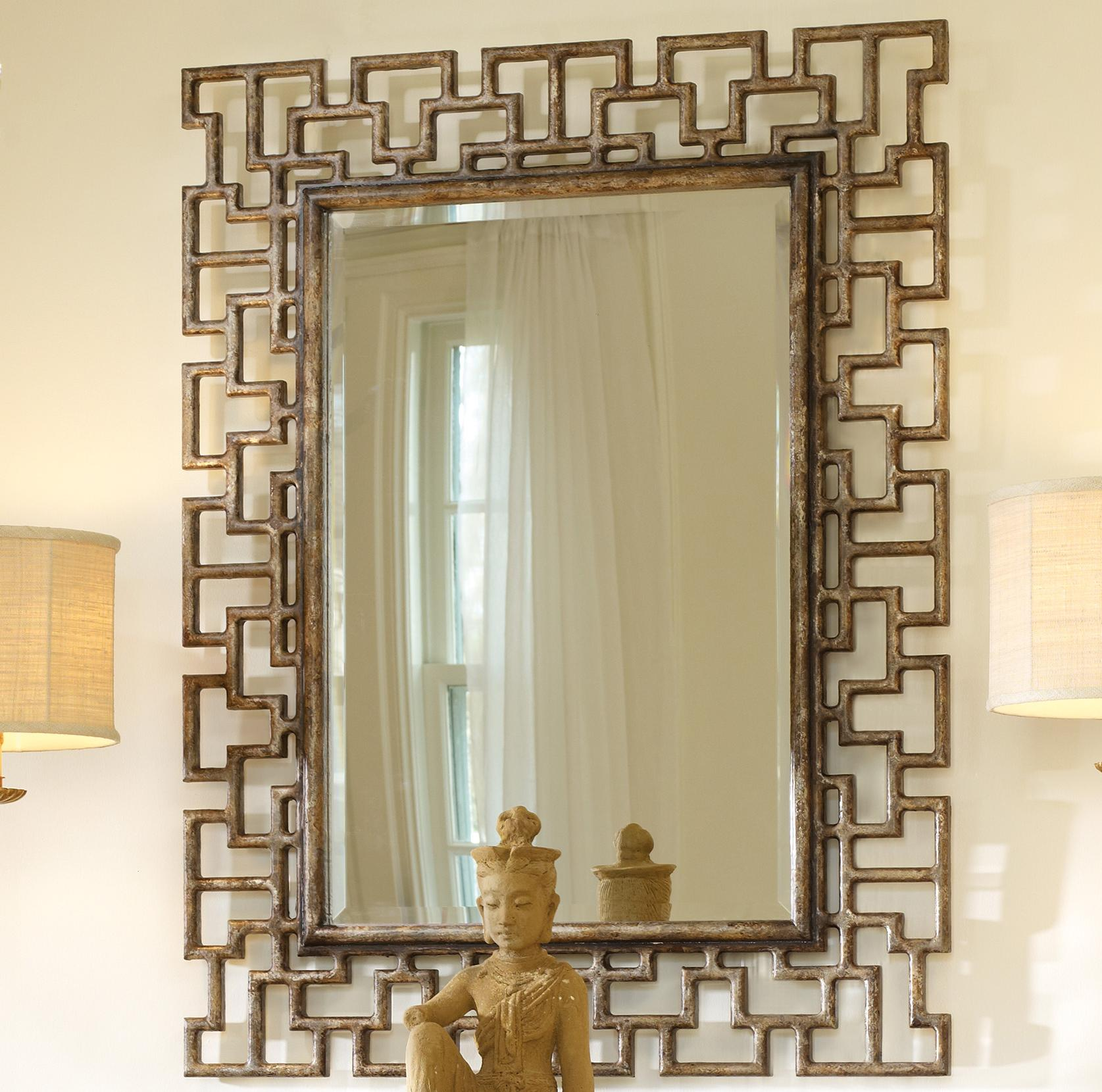 Hooker Furniture Mélange Fretwork Mirror - Item Number: 638-50094