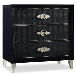 Hooker Furniture Mélange Ebony Croc Chest
