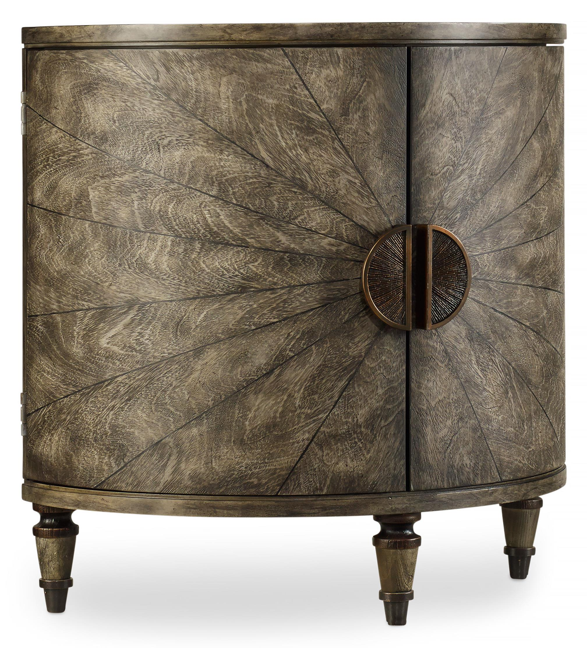 Hooker Furniture Mélange Tatum Demilune - Item Number: 638-50128